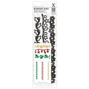 DoCrafts XCut Die Set Christmas Borders
