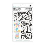 DoCrafts XCut Large Dies Birthday Party