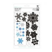DoCrafts XCut A5 Die Set Snowflakes