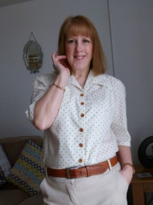 1940's Style Blouse