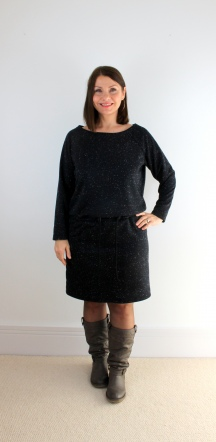 A Cosy Sweatshirt Dress - Burda 7148