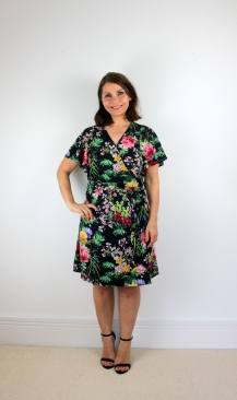 A Floaty Wrap Dress - McCalls M7406