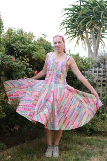 A Measure of Pinkness Dress