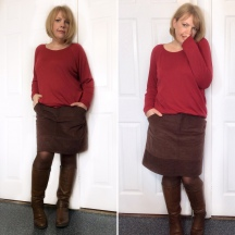 A Perfect Everyday Skirt - The Moss Skirt by Grainline Studio