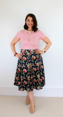 A Special McCalls 6706 Pleated Skirt