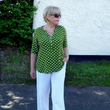 A Spotty Dotty Tunic: The Cheyenne By Hey June Handmade