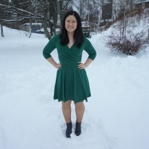 Aldaia Dress in the Snow