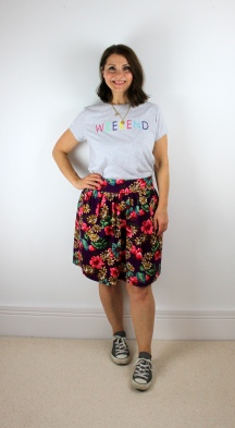 An Autumn Inspired Brumby Skirt