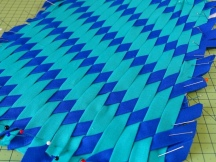 An Experiment in Fabric Weaving