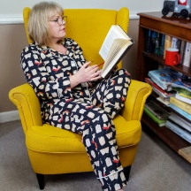 And so to bed, sleepyhead! The Carolyn PJ's by Closet Case Patterns