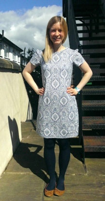 Baroque Linen Megan Dress