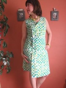 Batik Sprout Dress