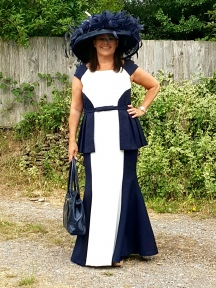 Burda 6869 Royal Ascot Dress