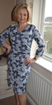 Burdastyle Cowl Dress
