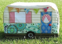 Caravan Sewing Machine Cover