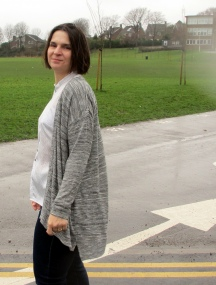 Clouds and Silver Linings - Grainline Driftless Cardigan