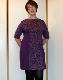 Cosy Ponte Knit Dress