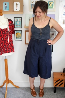 Cotton Linen Two-Piece
