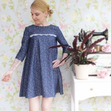 Denim Luisa Dress