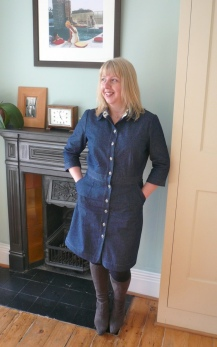 Denim Shirt Dress
