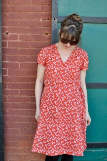 Dottie Angel Wrap Dress
