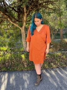 Double Gauze Sequence Dress