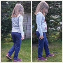 Eleanore Pull on Jeans by Jalie for my Little Miss