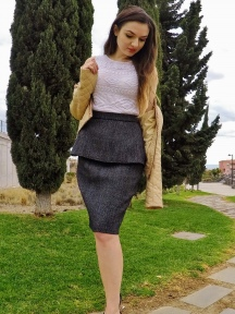 Elegant Winter Skirt