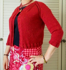 Fashion Aran Cardigan