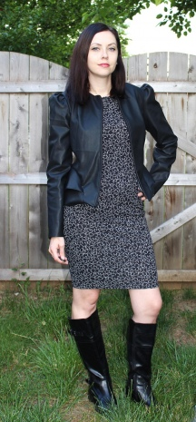 Faux Leather Cordova Jacket