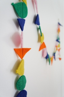 Felt Birthday Garland