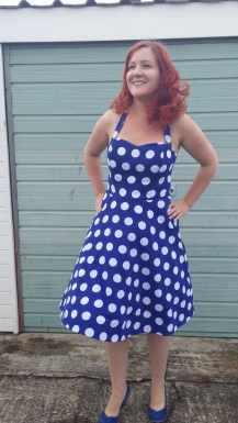 Fifties Style Spotty Dress