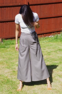 Floaty Flint Trousers