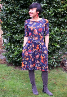 Floral Phase Moneta Dress
