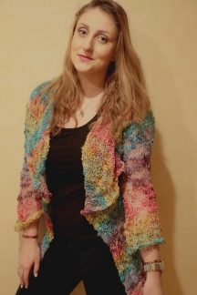 Follow the Rainbow Open Cardigan