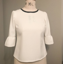 Ivory Laurel Blouse