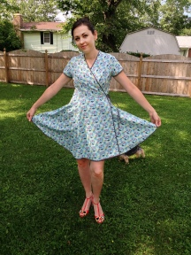 Kitschy Wrap Dress