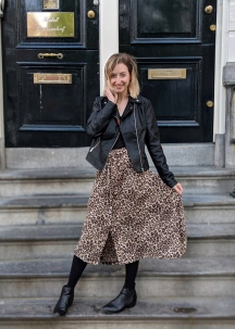 Leopard Dominique Skirt