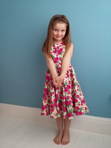Little Girl's Liberty Dress
