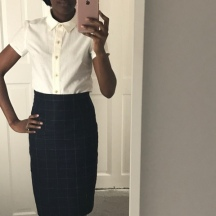 M6696 Shirt and a Pencil Skirt