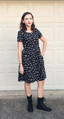 Musical Emery Dress