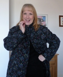 My Amazing, Easy Sew Embroidered Wool Coat
