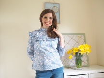 My Liberty Floral Bloomsbury Blouse