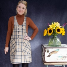 My Lovely Wool York Pinafore