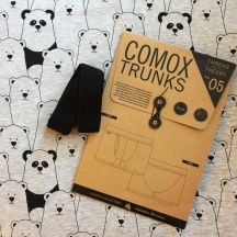 Panda Print Comox Trunks
