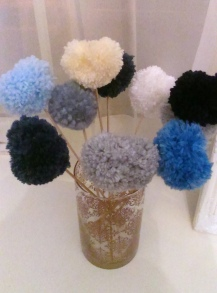 Pompoms for Valentines