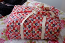 Quilted Overnight Bag
