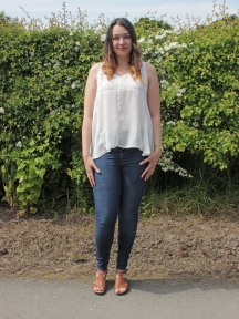 Simplicity 1107 - Floaty Sleeveless Blouse