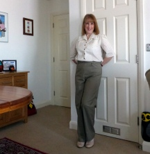 Simplicity 1940's Vintage Style Trousers