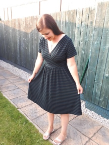 Stripy Colette Wren Dress